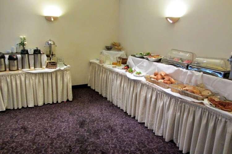 Desayuno Hotel Atrium (Cracovia)