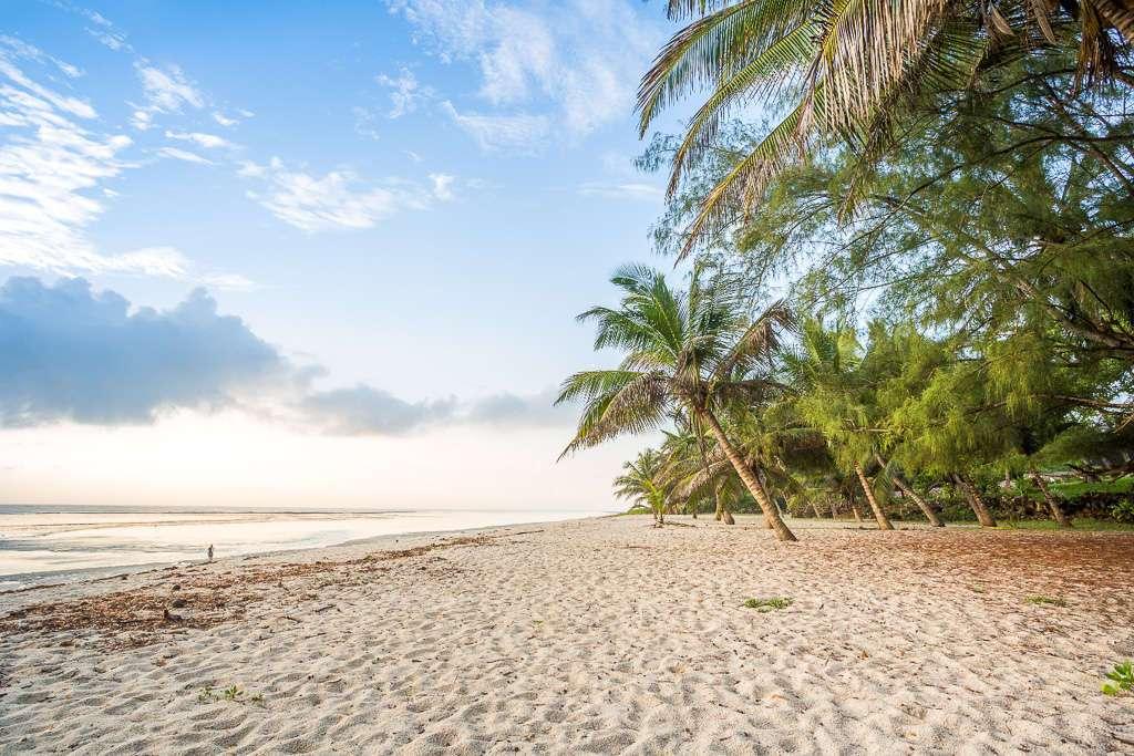 Diani beach, Kenia