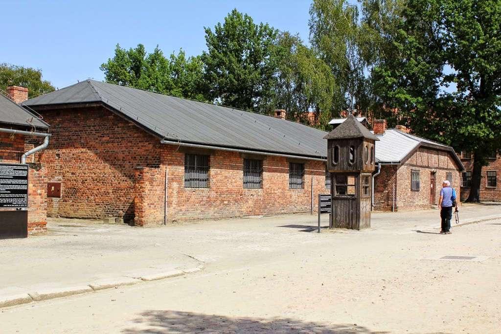 Interior de Auschwitz I