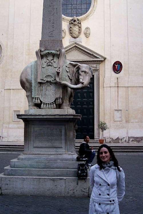 El elefantino de Santa Maria sopra Minerva