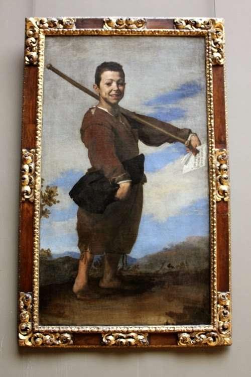 """""""El pie varo"""" de José de Ribera (El Louvre)"""