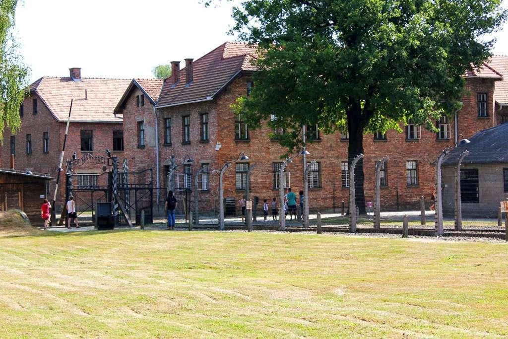 Entrada de Auschwitz I