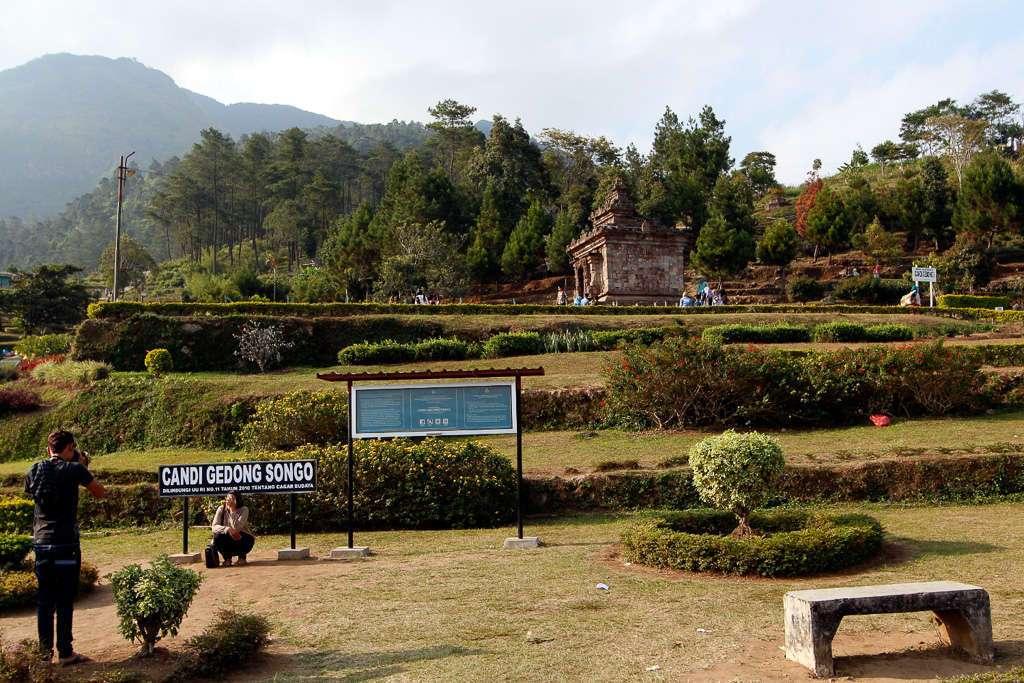 Vista general de Gedong Songo