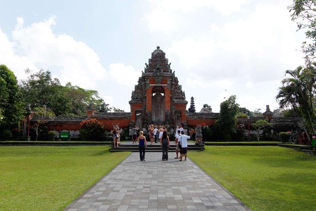 Entrada de Taman Ayun (Bali)
