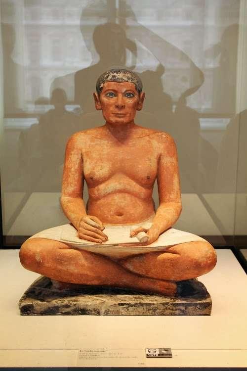 Escriba sentado egipcio (El Louvre)