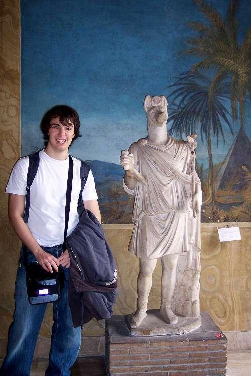 Escultura egipcia (Museos Vaticanos)