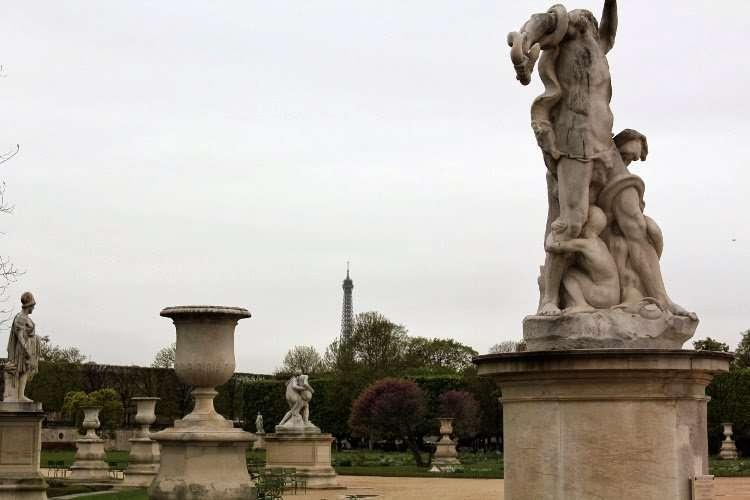 Esculturas del jardín de las Tullerías