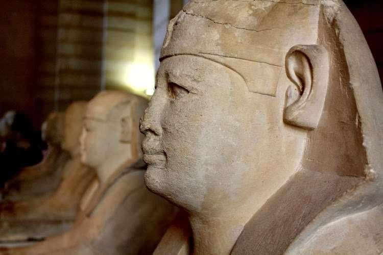 Esfinges egipcias (El Louvre)