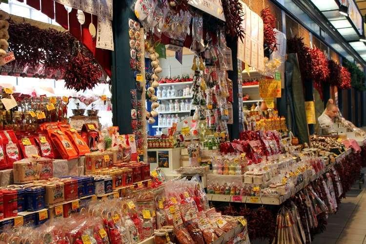 Especias en el Mercado Central