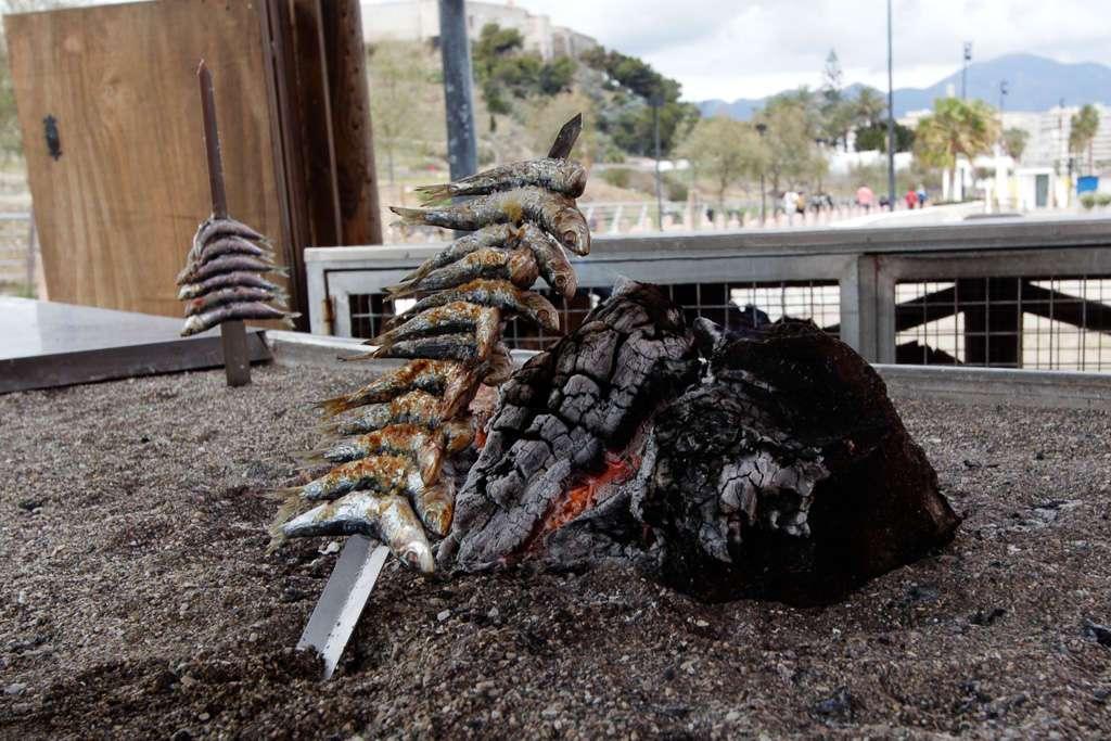 Un espeto de sardinas en Fuengirola