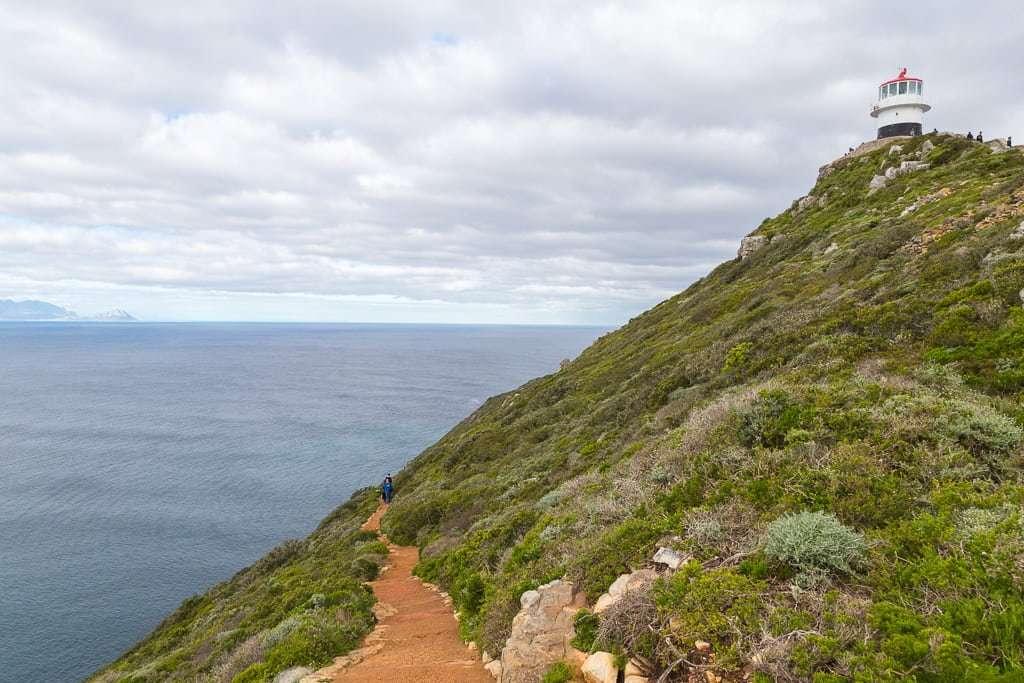 Camino por Cape Point, Península del Cabo, Sudáfrica
