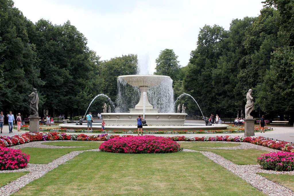 El Jardín Sajón (Ogród Saski)