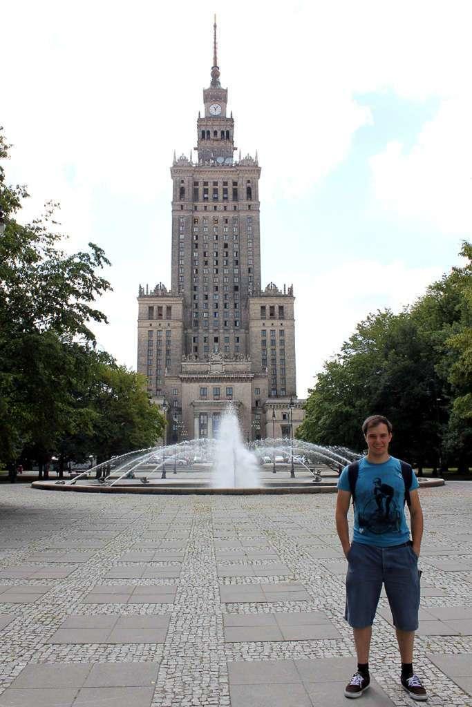 El Palacio de la Cultura y la Ciencia de Varsovia