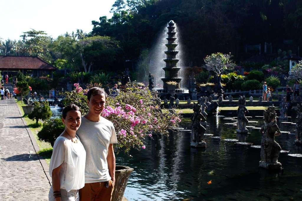 Los jardines de Tirta Gangga