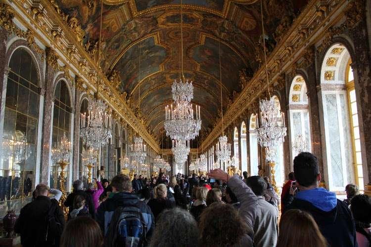 Galería de los Espejos del Palacio de Versalles