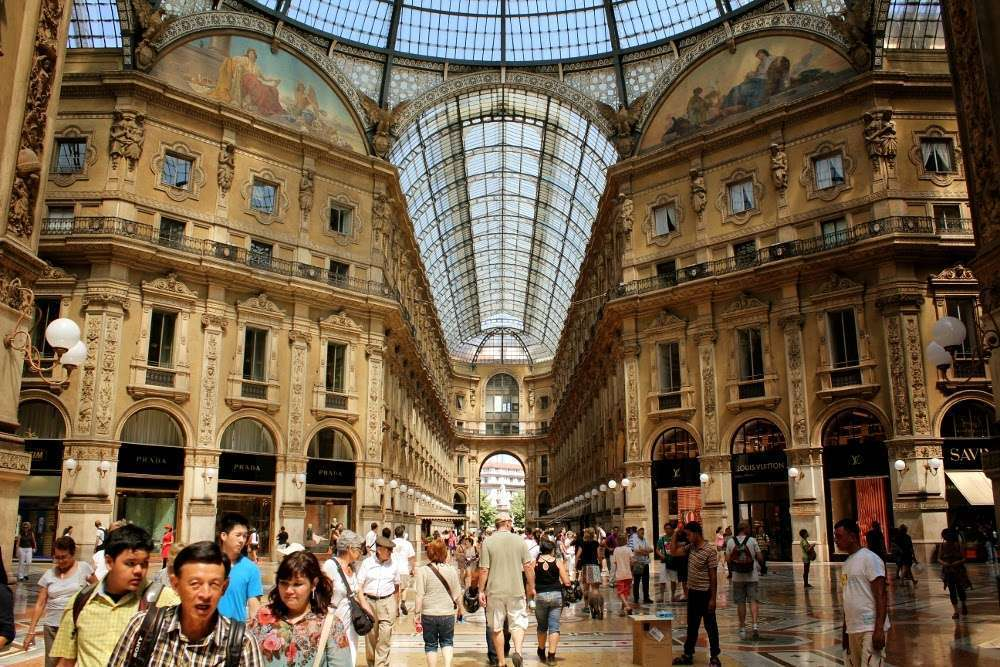 Galería Vittorio Emanuele II, Milán