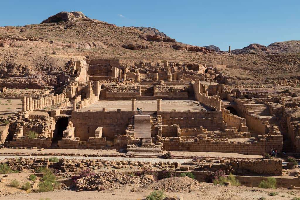 Gran Templo de Petra, Jordania