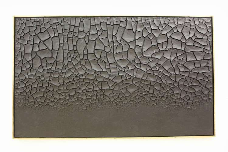 """""""Grande Cretto Nero"""" de Alberto Burri (Centro Georges Pompidou)"""