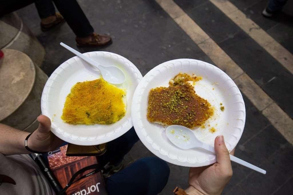 Pastelería Habibah en Amman