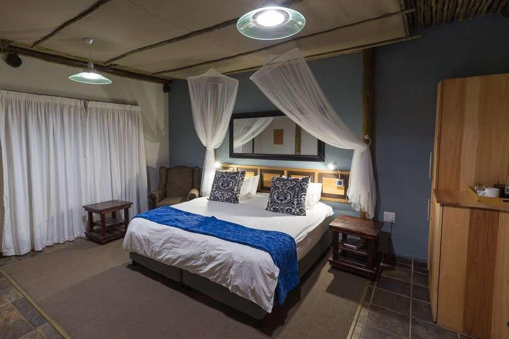 Habitación del Umlilo Lodge, St. Lucía, Sudáfrica
