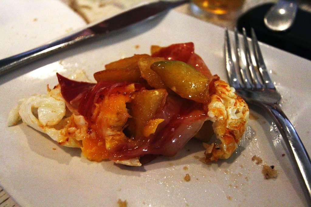 Huevos rotos del Tentempié
