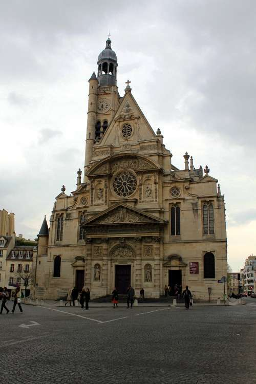 Iglesia Saint-Étienne-du-Montmáis