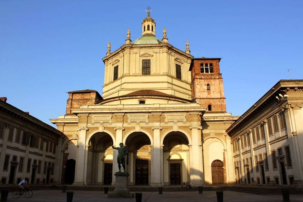 Basílica San Lorenzo Maggiore, Milán
