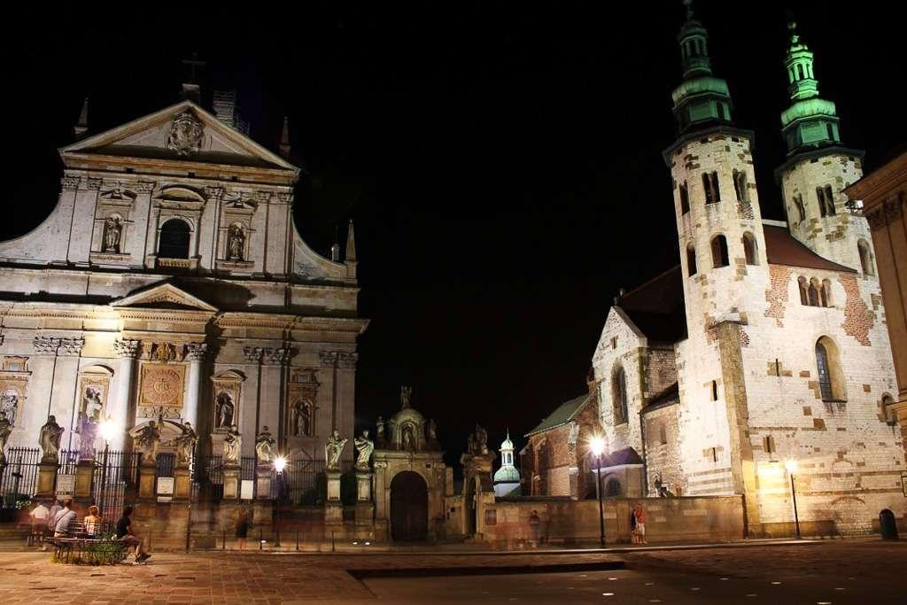 La Iglesia de San Pedro y San Pablo y la Iglesia de San Andrés (Cracovia)