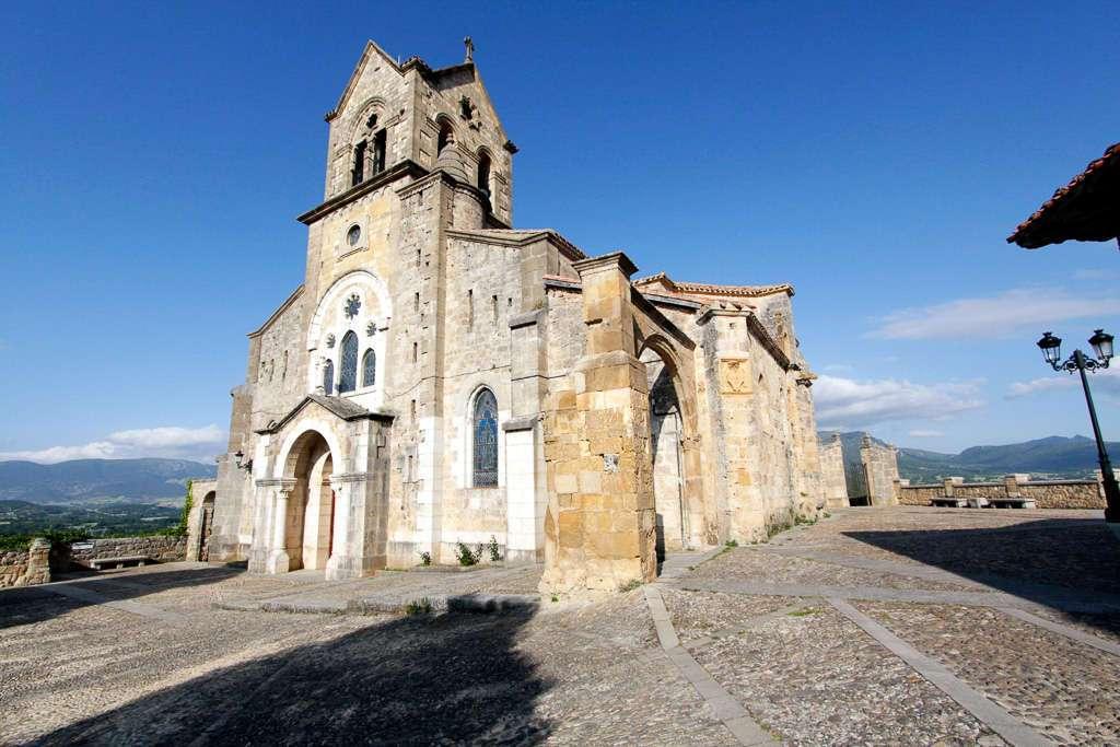 Iglesia de San Vicente en Frías