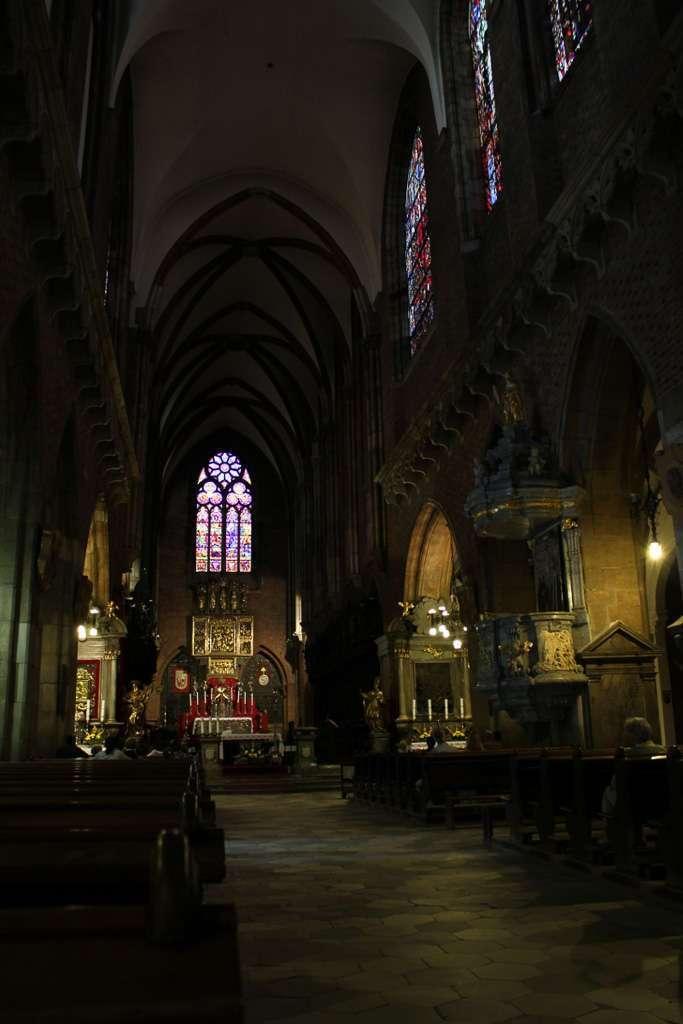 Interior de la Catedral de San Juan Bautista