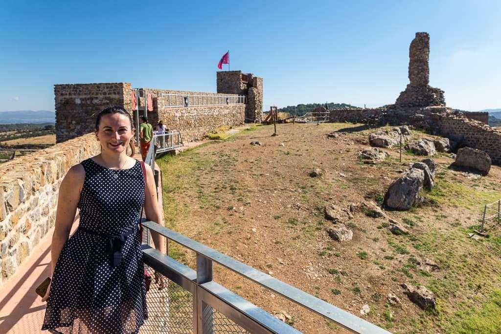 Interior del castillo de Aracena