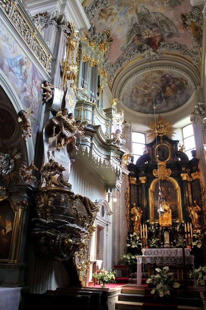 Interior de la Iglesia de San Andrés (Kościół św. Andrzeja)