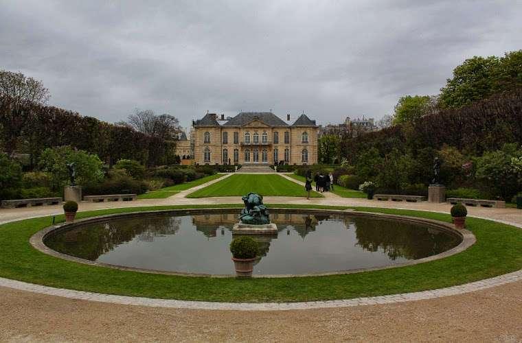 Los jardines del Museo Rodin