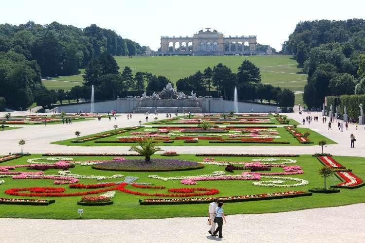 Jardines del Palacio Schönbrunn (Viena)