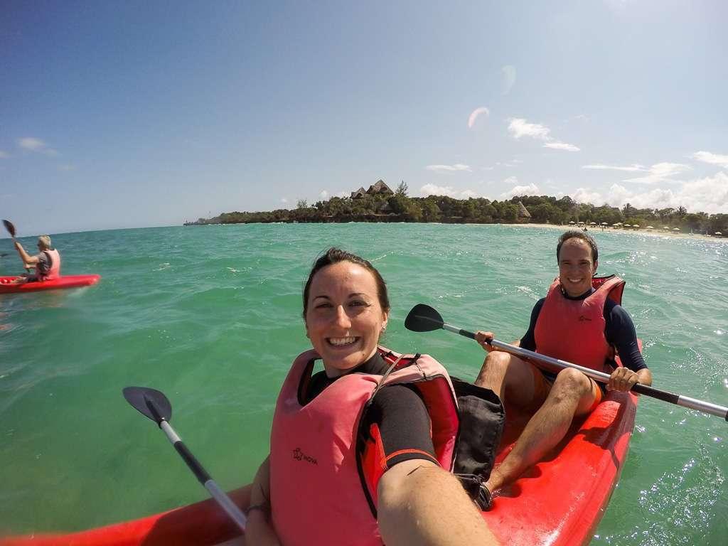 En kayak por los alrededores de Chale Island