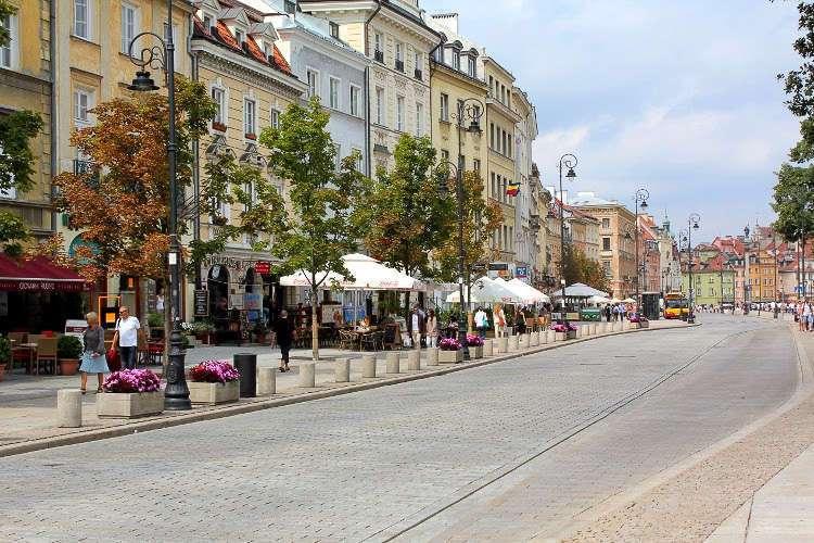Krakowkie Przedmiescie, una de las calles más bonitas de Varsovia