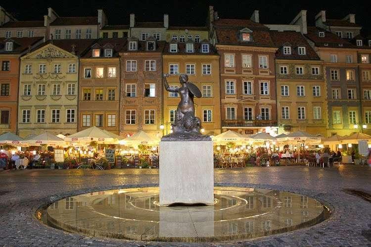 La Sirenita de Varsovia