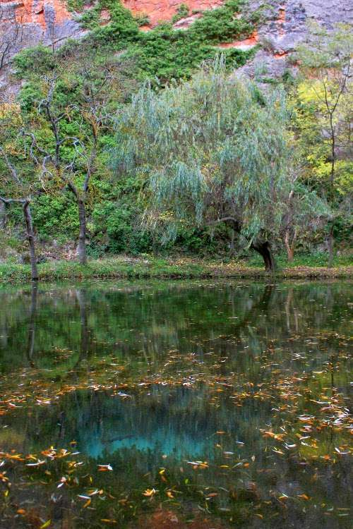 Lago del Espejo (Monasterio de Piedra)