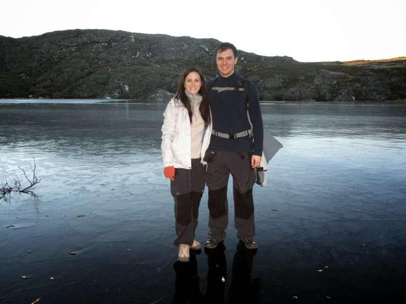 Caminando sobre las aguas de la Laguna de Sotillo