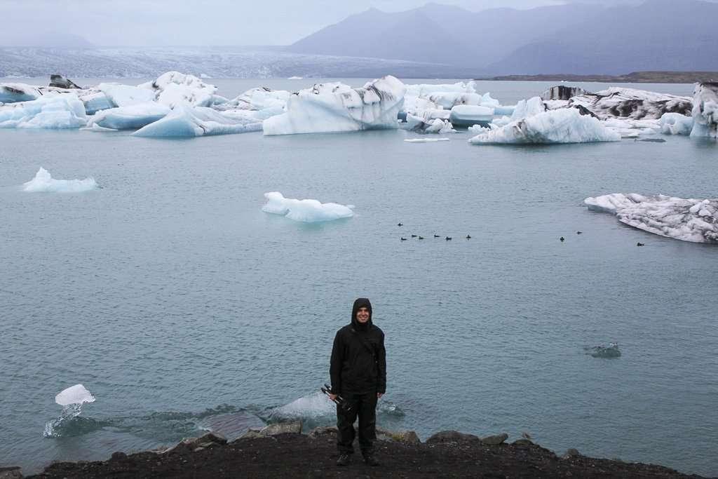 El lago de icebergs de Islandia, Jökulsárlón