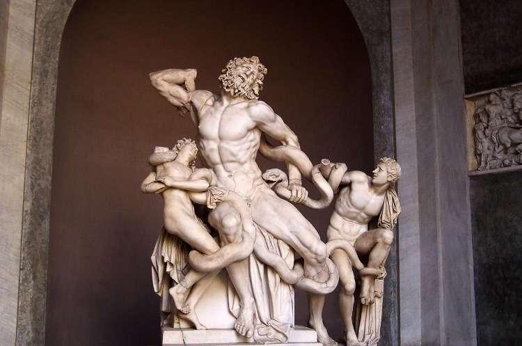 Laocoonte y sus hijos (Museos Vaticanos)