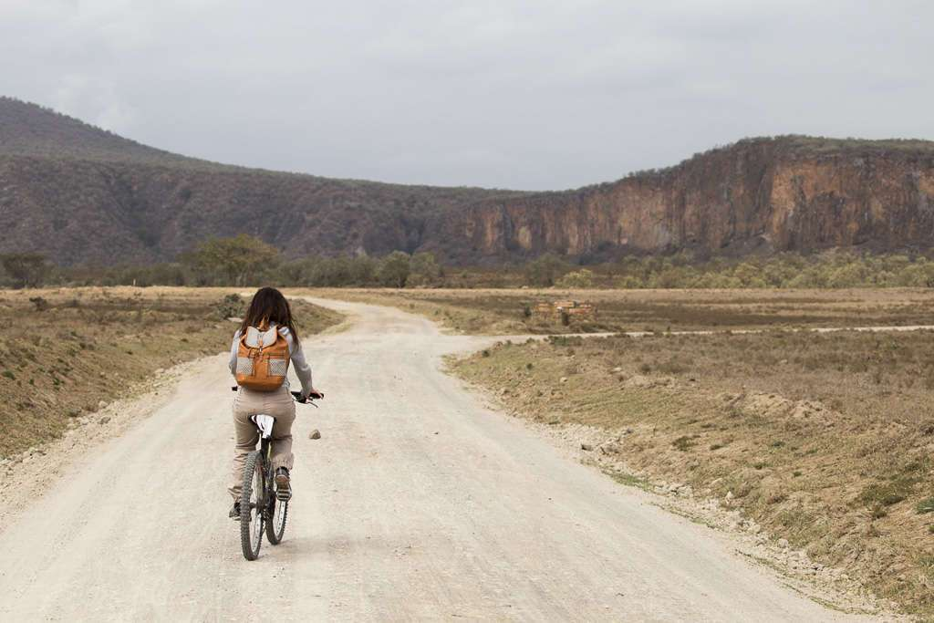 En bici por Hell's Gate