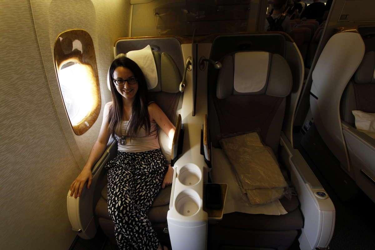 Volando en business desde Dubai hasta Yakarta con Emirates