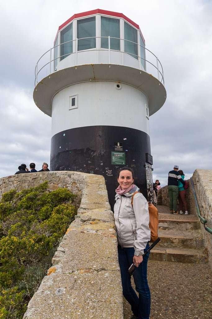 Antiguo faro de Cape Point, Península del Cabo, Sudáfrica