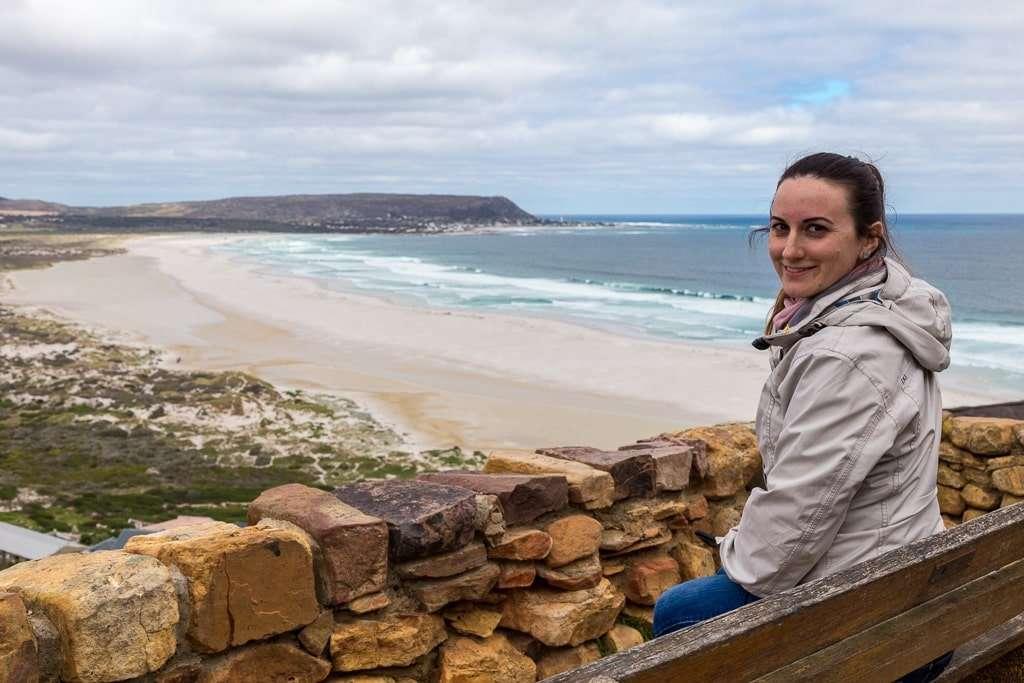 Vistas de Noordhoek Beach, Península del Cabo, Sudáfrica