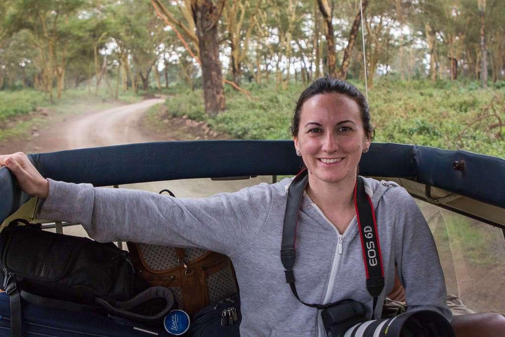 Lena en los caminos de Nakuru