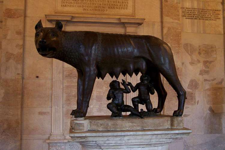 Loba capitolina (Museos Capitolinos)