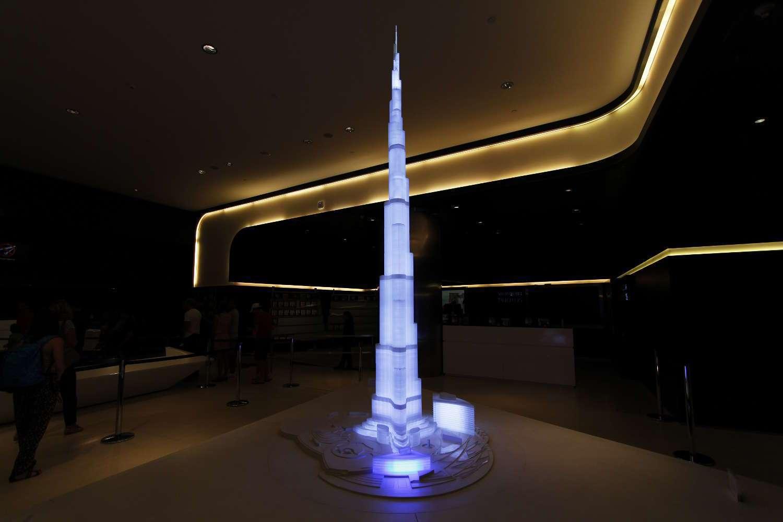 Maqueta del Burj Khalifa