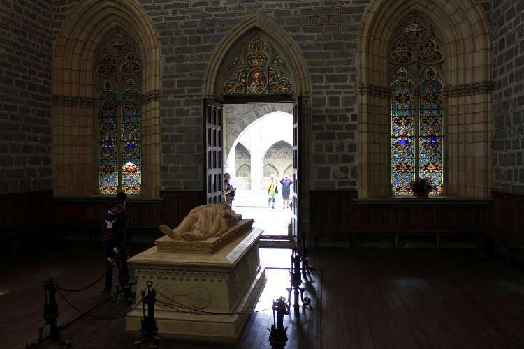 Mausoleo de Sancho VII El Fuerte de Navarra en la Colegiata de Roncesvalles
