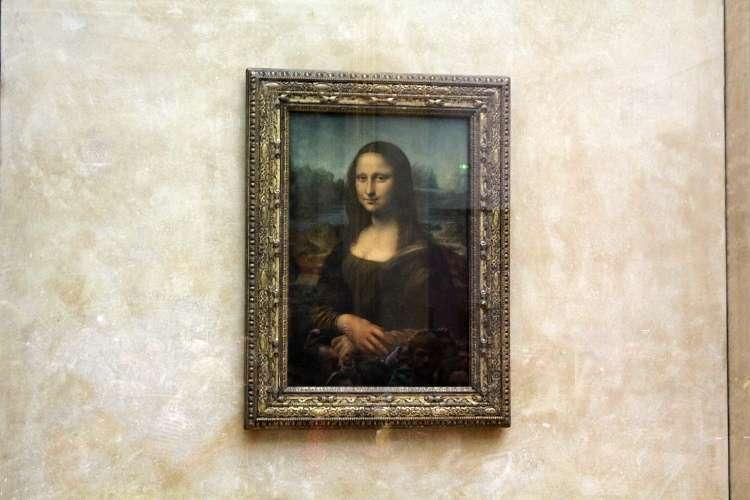 """""""La Gioconda"""" o """"La Mona Lisa"""" de Leonardo da Vinci (El Louvre)"""